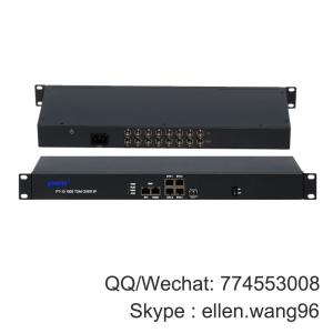 China 4/8E1 Over Ethernet Tdmoip Gateway (E1/T1 over IP) multiplexer on sale
