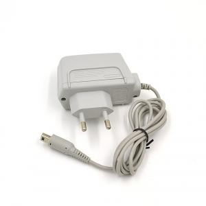 China 100 - 240V AC Video Game Adapter For Nintendo DSi / 3DS Grey EU Version on sale