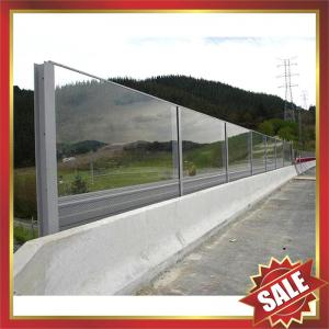 China polycarbonate panel for sound barrier on sale