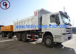 China 16 Cubic 10 Wheel 6x4 Heavy Dump Truck , STD 75 km/h Max Speed Commercial Dump Trucks on sale
