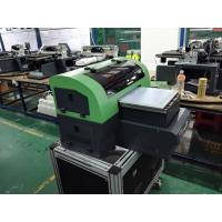 Small Format Desktop UV Printer A4 , 8 Heads Multifunctional Digital Flatbed Printer