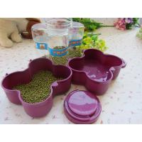 Food Grade Plastic Tableware Set Leak Proof Traveling Pet Food Storage Box