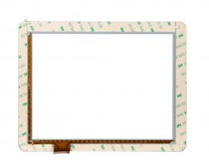 Quality 8 Inch G+FF Projected Capacitive Transparent Touch Screen Panel For Electronic for sale