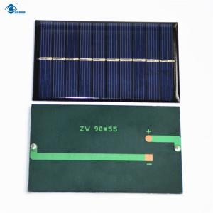China 6V 0.8W Chinese solar energy systems for solar car battery charger ZW-9055 90X55X2.5mm on sale