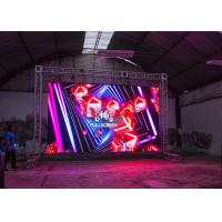 HD AV Production LED Wall Audio Visual Display Screens Mean Well Power Supply
