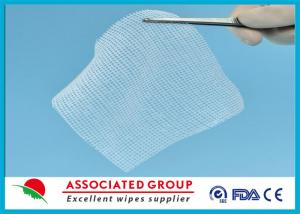 China Cotton Non Woven Gauze Swabs 10 x 10 , X-ray Detectable Gauze Swabs on sale