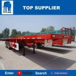 TITAN VEHICLE 40 ft flatbed truck trailer with 3 axle