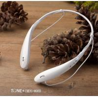 China Slim Neckband Bluetooth Headphones with call function , over the ear headphone on sale