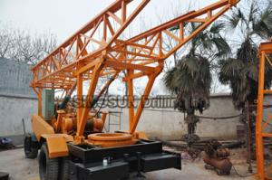 China S400 Trailer Mounted Water Well Drilling Rig on sale