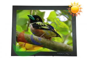China 15 Inch Industrial Lcd Monitor , Sunlight Readable Touch Screen Resolution 1024 * 768 on sale