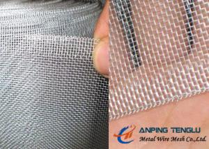 China Aluminum Insect Screen, 17×15mesh With 0.21mm Wire, 1m×20m Roll Size on sale