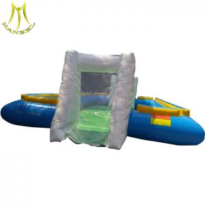 China Hansel low price children games soccer field inflatable sports equipment on sale