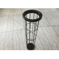 China Light Weight Carbon Steel Filter Bag Cage , DN 125 x 6000 mm Length Baghouse Cages on sale