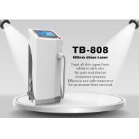 Painless 808nm Diode Laser Hair Removal Machine For Chest / Back / Arm