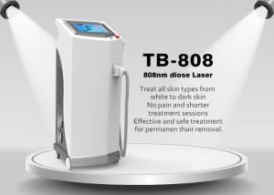 China Painless 808nm Diode Laser Hair Removal Machine For Chest / Back / Arm on sale
