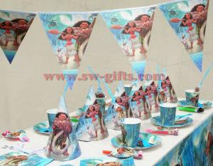Moana movie Maui Kids Birthday Party Decoration Set Party Supplies