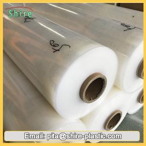 China Large Clear Overlaminate Film , Flexible Packaging Film 6 Month UV Resistant 30MIC on sale