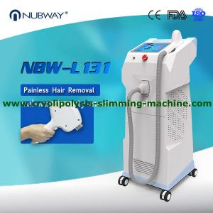 China NUBWAY hot seller most professional 12*20mm 600W laser diode hair removal machine on sale