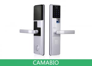 China CAMA-C010 Keyless Biometric Door Lock 3.3V Voltage With Deadbolt Lock Latches on sale