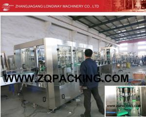 China 2015 Longway design automatic carbonated cocktail filling machine supplier