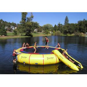 China Rave Bongo Water Trampoline Parks ,  Inflatable Water Games , Water Park Games on sale