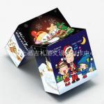 El rompecabezas mágico de CUSTOM.wholesale cubica las fotos plásticas de la impresión de los 7*7*7CM para su cubo de la magia del diseño