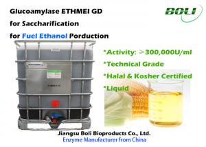 China 300,000 U / Ml Glucoamylase Enzyme GD From Starch Substrates Into Fermentable Sugars For Ethanol on sale