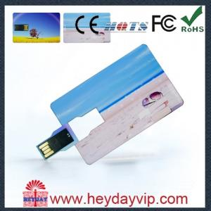 China custom credit card usb sticks 2GB with printing logo for gift on sale