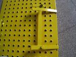 Люк желтой лестницы лесов стальные/дверца люка доступа лестницы для конструкции