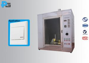 China Auto Testing Machine Flame Resistance Test Glow Wire Testing Equipment with 999s Burning Time Adjustable on sale