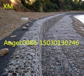 China Hot sale 2x1x1 m Hexagonal PVC Coated Gabion mesh/gabion /Gabions Box on sale