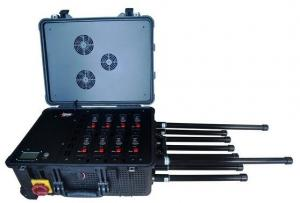 China 6CH 520W Draw Bar portable Uav Drone Jammer on sale