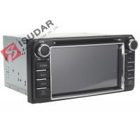 6.2 Inch Digital Touch Screen Toyota DVD GPS Navigator Car Dvd Player Radio IPod