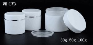 Quality 30g 50g 100g PP plastic cream jar ,Jar, 30 Gram for sale