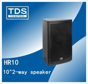 China Two-way 10 inch Full Range Speaker For DJ Sound System (HR10) on sale