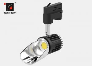 China Contemporary LED Track Light High Lumen Energy Saving Black / White Color on sale