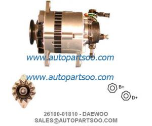 China 26100-01810 02121-7041 - DAEWOO Alternator 12V 70A Alternadores on sale