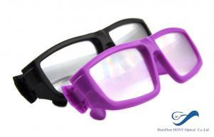 China La circular plástica del marco polarizó el rasguño anti de los vidrios 3D para el cine on sale