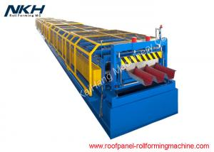 China Blue Floor Tiles Manufacturing Machines Roll Forming Line For Bridge Deck Panel on sale