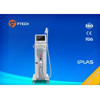 China Vertical  High Frequency Permanent Laser Hair Removal Machine Max 2000W Power on sale