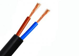 China Round Shape Multi Core Flexible Copper Conductor Cable , PVC Sheathed Electrical Cable on sale