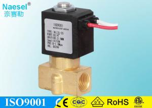 China Flow Adjustable Solenoid Operated Valve For Public Toilet 1 / 4 G Thread on sale