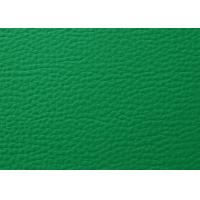 Litchi Grain Sports Flooring PVC Floor Mat Classic Green Anti - Scratching