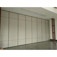 Wood Panel Door Operable Sliding Partition Walls for Restaurant Commercial Furniture