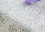 Wedding Dresses Water Soluble Lace Fabric With Chemical Polyester Floral Lace