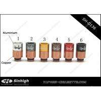 China Multi-colour SS Copper Aliminium Acrylic  510 Drip Tip Long 2puffs Drip Tips on sale