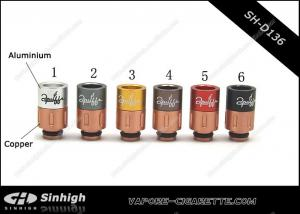China Multi-colour SS Copper Aliminium Acrylic  510 Drip Tip Long 2puffs Drip Tips on sale