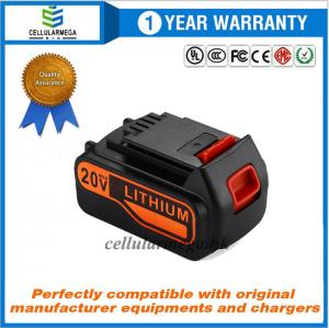 China 4.5Ah 20V MAX Replacement Battery for Black&Decker LBXR20 LBXR20-OPE LB20 LBX20 LBX4020 LB2X4020-OPE Black and Decker Li on sale