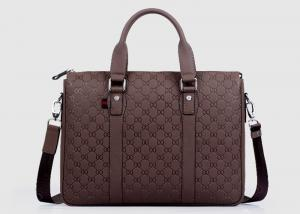 China High grade Cow leather Mens Business Briefcases for travel Crossbody Shoulder Bag on sale