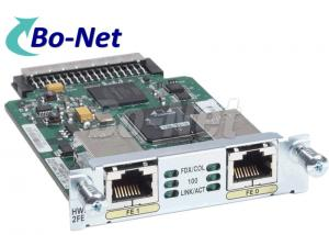 China HWIC 2FE Plug In Cisco Wan Interface Card / Expansion Module Cisco WIC Card on sale
